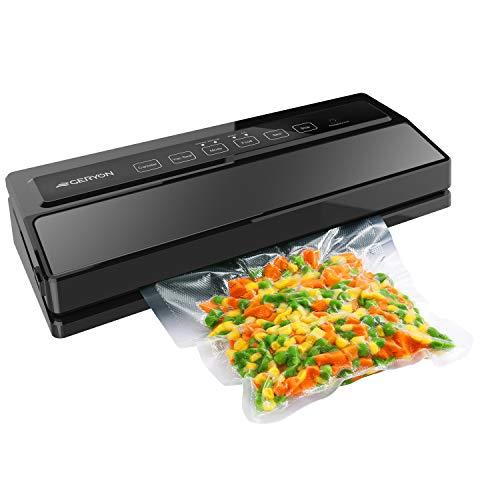 GERYON Vacuum Sealer, Automatic Food Sealer Machine for Food Savers w/Starter Kit|Led...