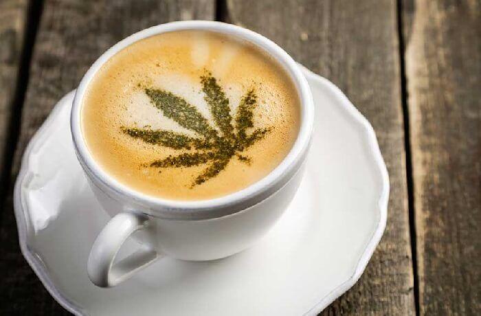 Maridaje de café y marihuana