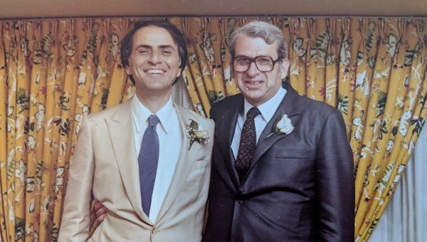 Carl Sagan y Lester Grinspoon